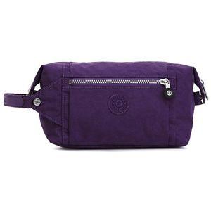 Kipling Aiden Toiletry Bag Purple/Silver